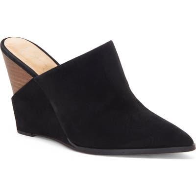 Jessica Simpson Helio Wedge Mule- Black