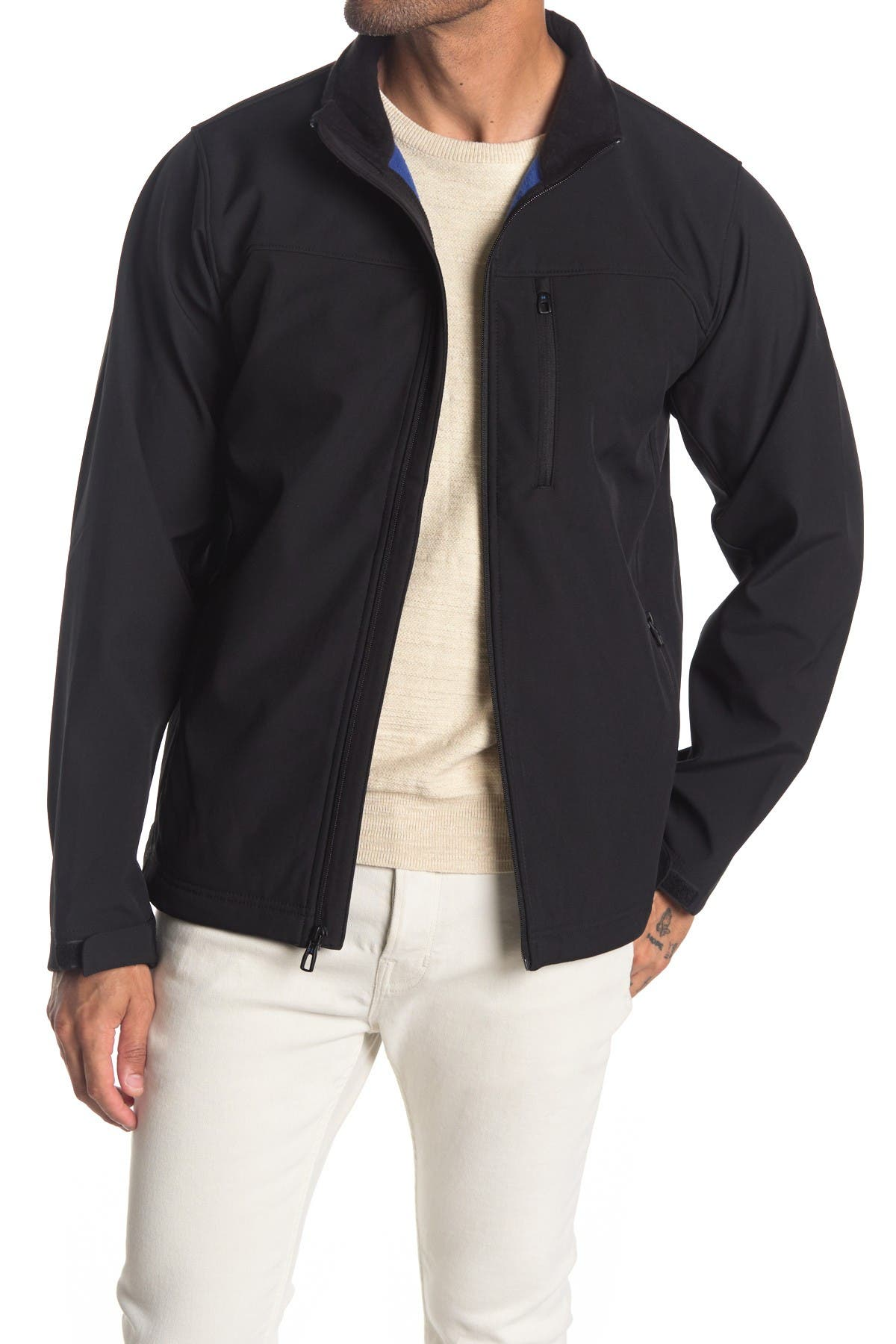 Image of Hawke & Co. Midweight Softshell Zip Jacket