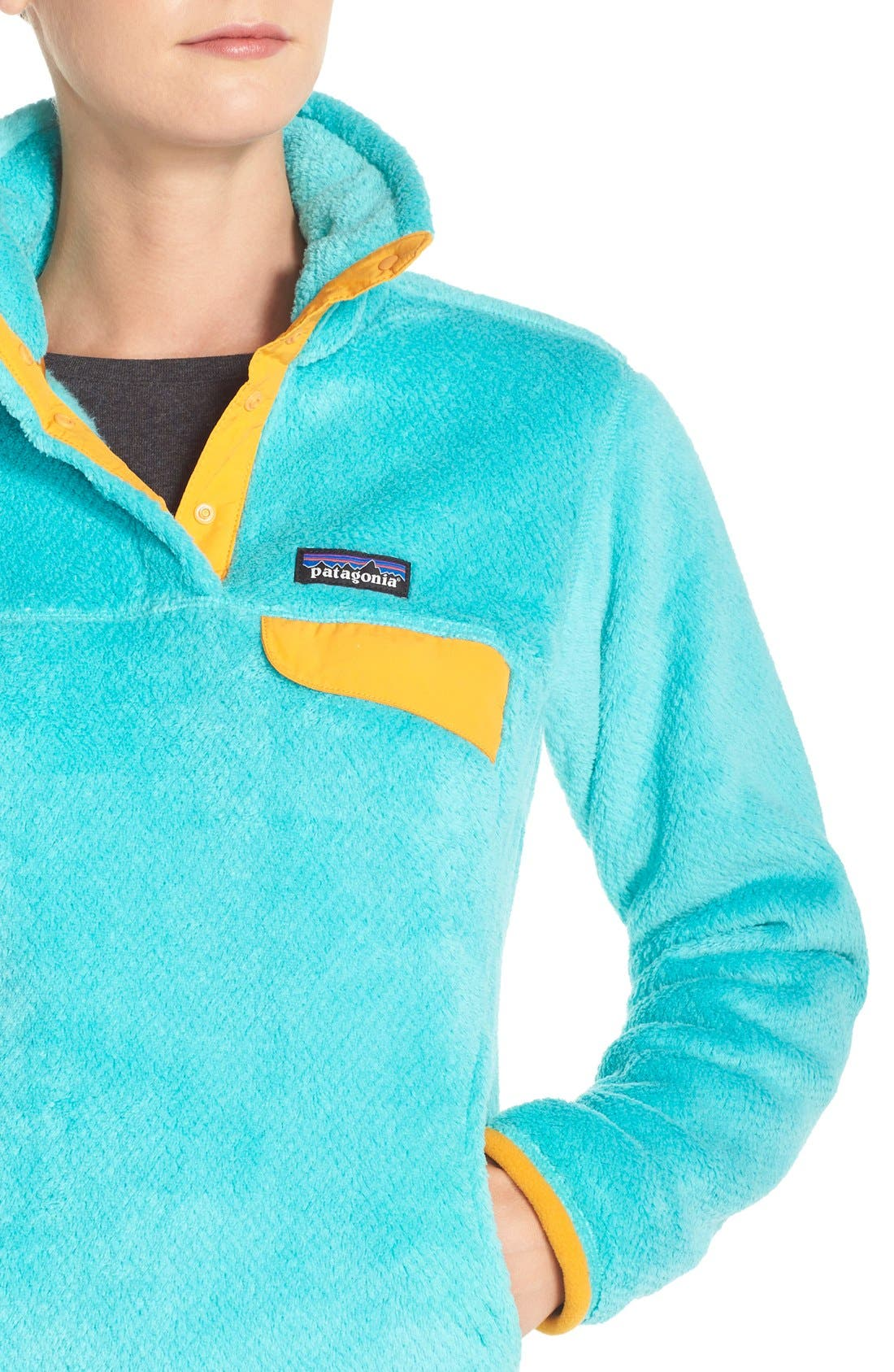 ,                             Re-Tool Snap-T<sup>®</sup> Fleece Pullover,                             Alternate thumbnail 130, color,                             405