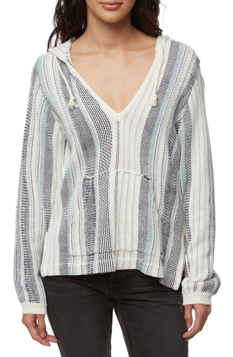 O'NEILL Bonfire Hooded Pullover, Main, color, MOOD INDIGO