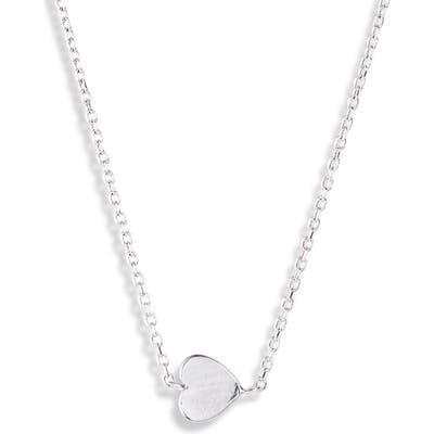 Anzie Love Letter Typewriter Heart Necklace