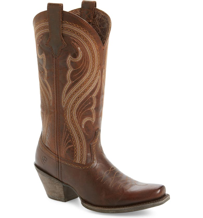 ARIAT Lively Western Boot, Main, color, 200