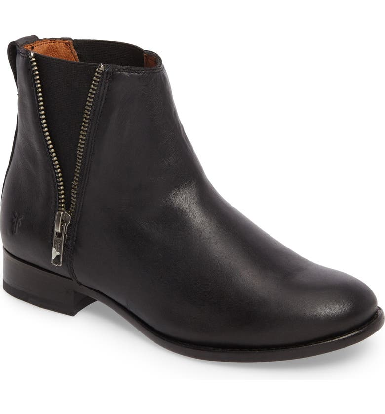 FRYE Carly Chelsea Boot, Main, color, 001