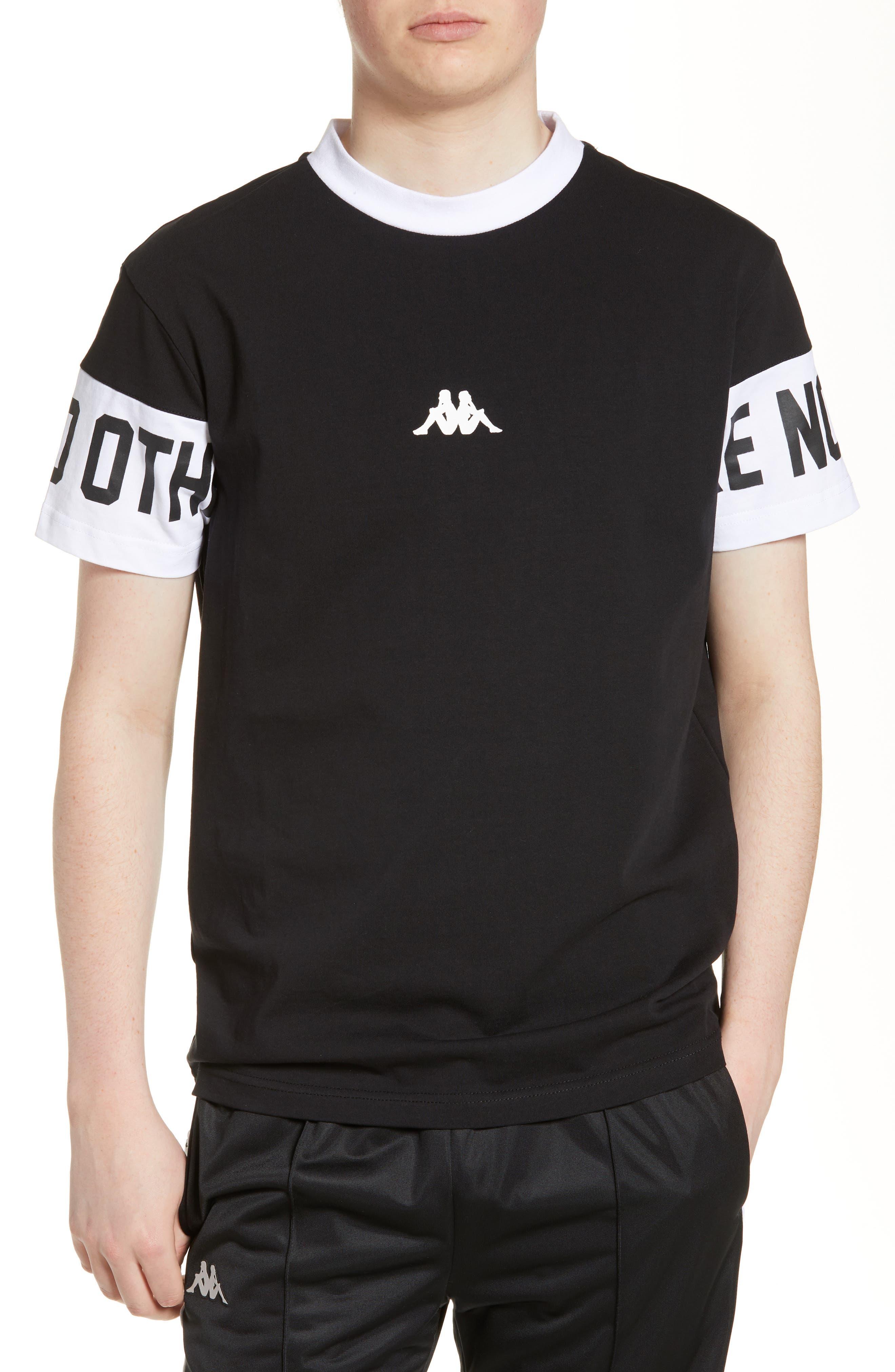 Kappa Authentic Baltos T-Shirt, Black