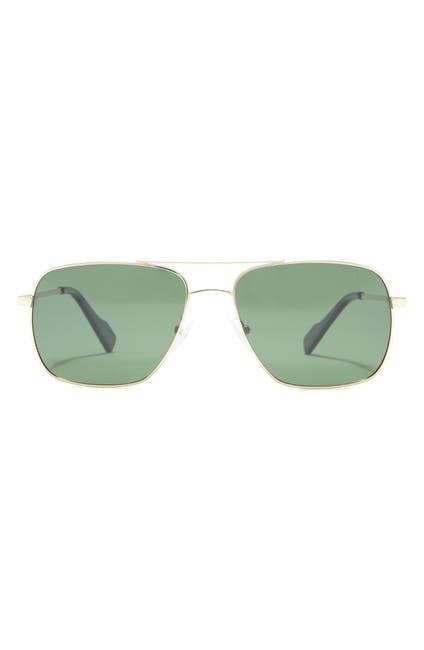 Image of Ben Sherman 58mm Stephen Aviator Sunglasses