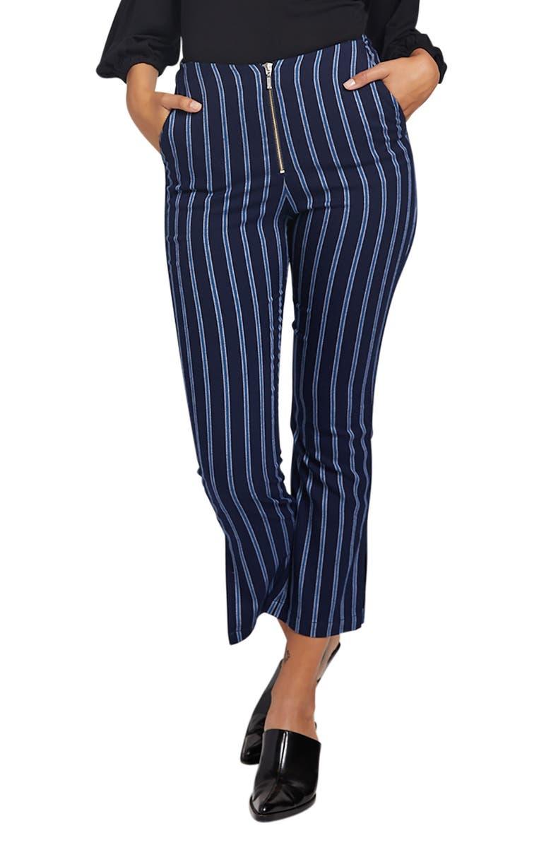 STONE ROW Future Me Stripe Pants, Main, color, BLUE MID