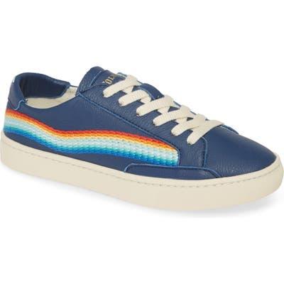 Soludos Rainbow Wave Sneaker, Blue