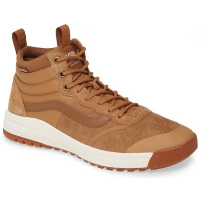 Vans Ultrarange Hi Dl Mte Sneaker, Brown