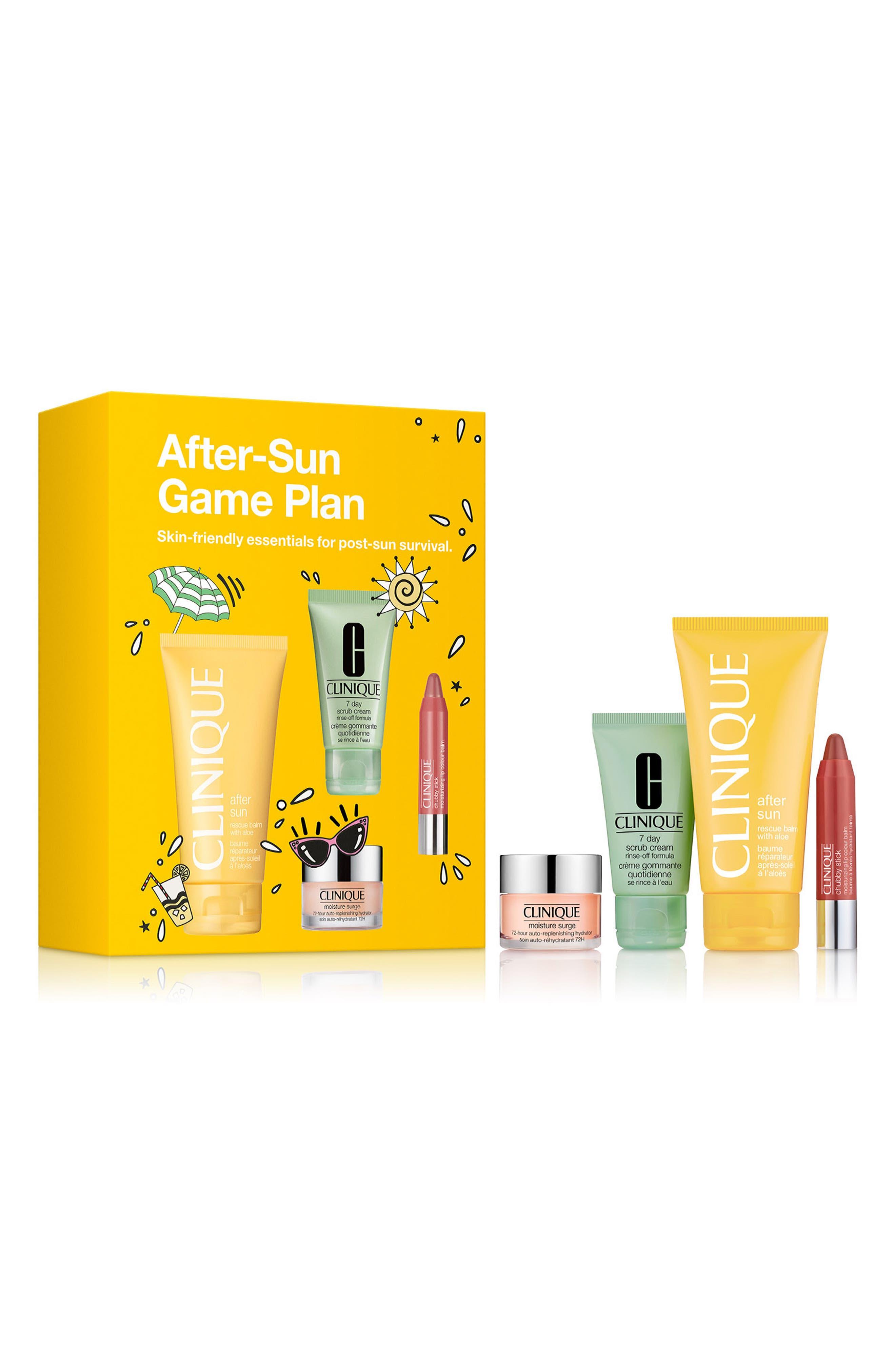After-Sun Game Plan Set, Main, color, 000