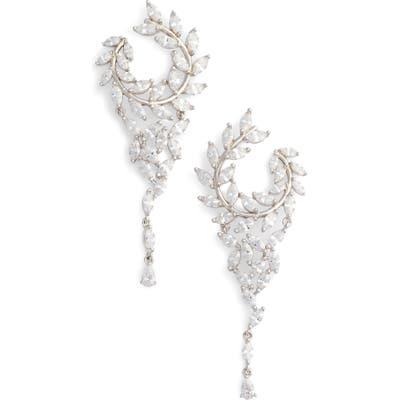 Nina Fern Chandelier Drop Earrings