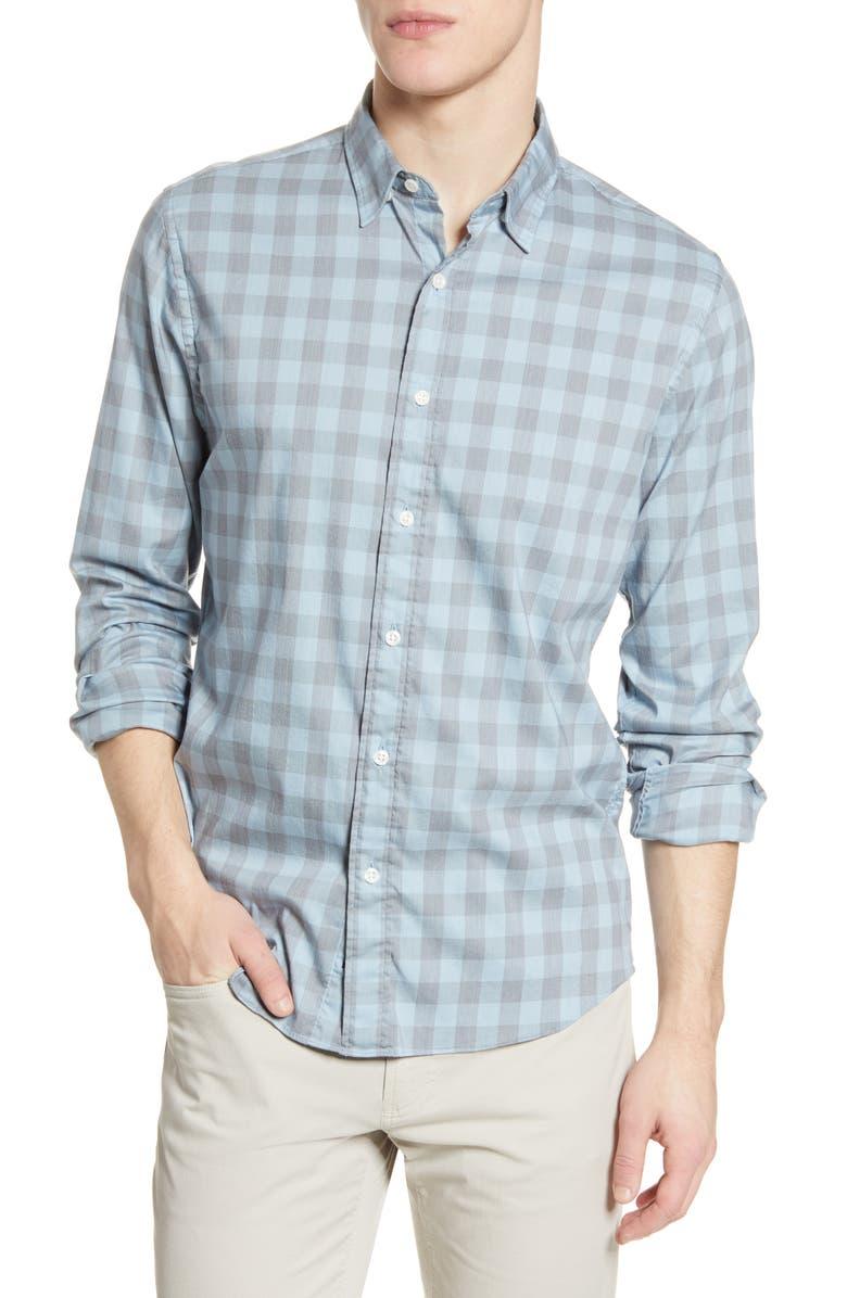 FAHERTY Movement Check Button-Up Shirt, Main, color, COTA CHECK