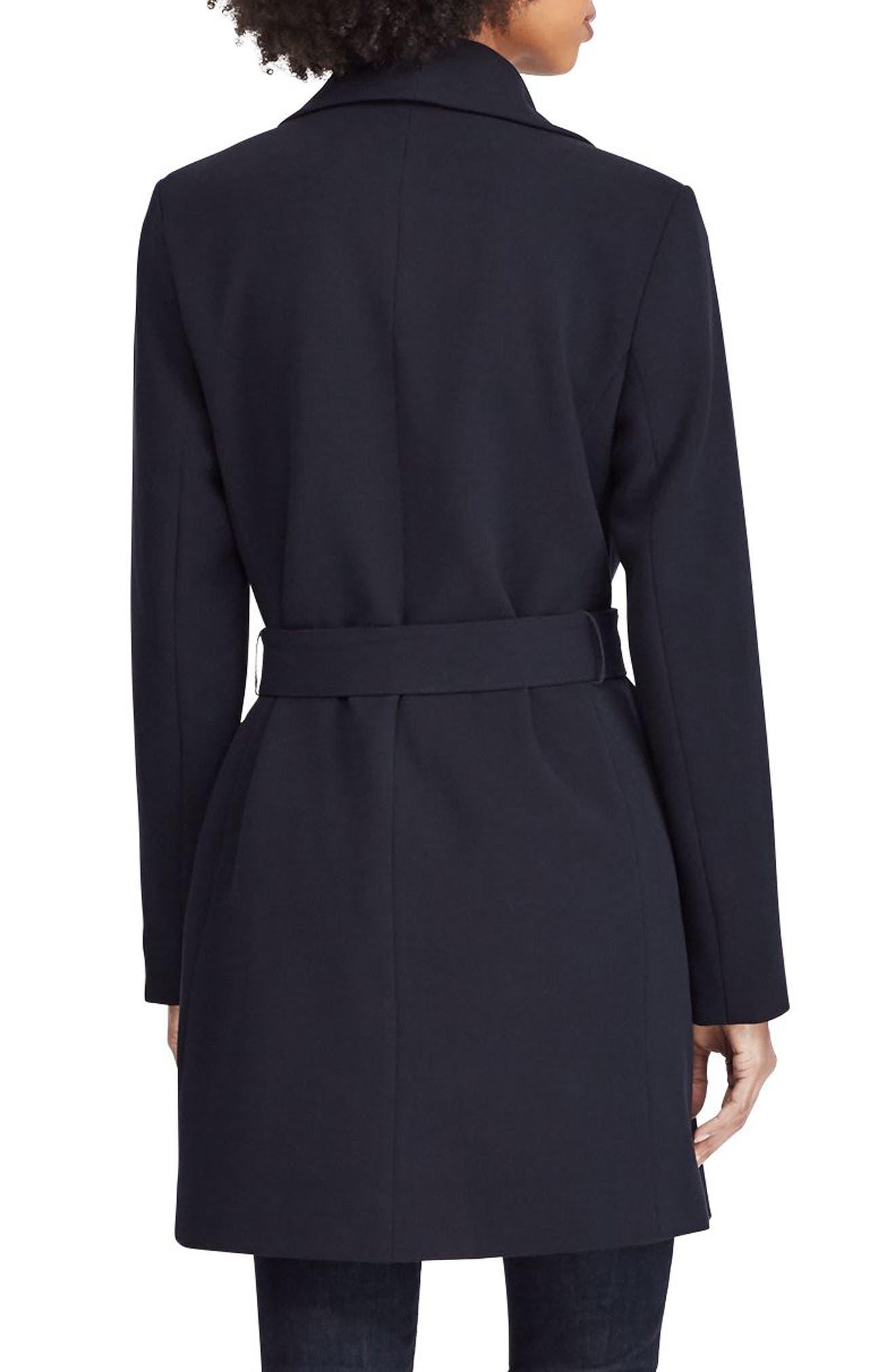 ,                             Belted Drape Front Coat,                             Alternate thumbnail 26, color,                             404