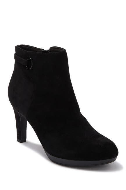 Image of Clarks Adriel Mae Leather Bootie