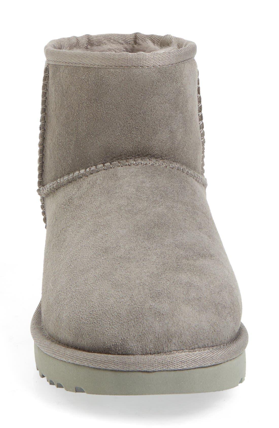 ,                             Classic Mini II Genuine Shearling Lined Boot,                             Alternate thumbnail 114, color,                             020