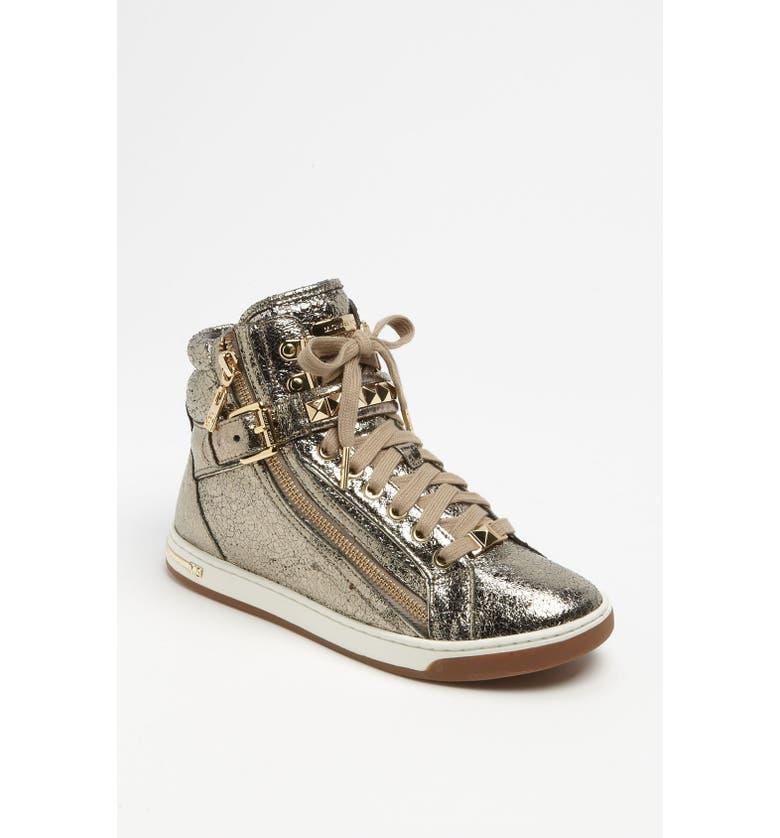 MICHAEL MICHAEL KORS 'Glam' High Top Sneaker, Main, color, 710
