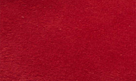 RED DAHLIA SUEDE