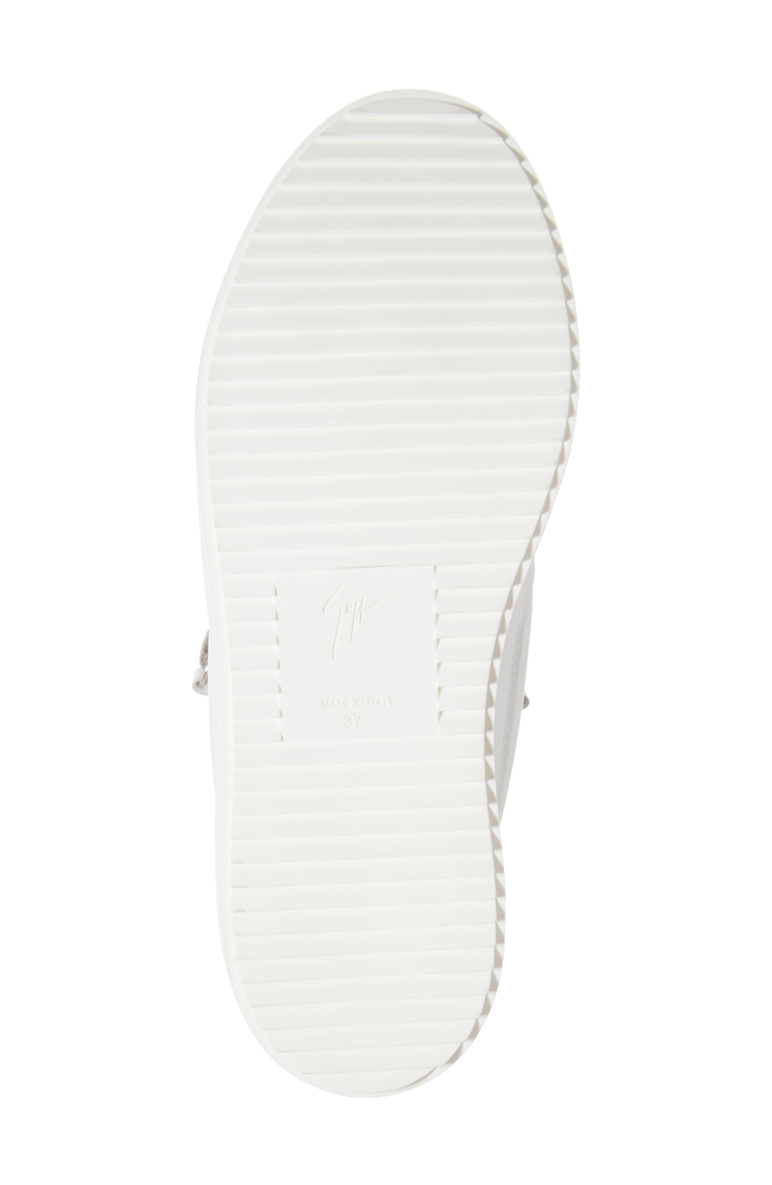,                             Low Top Sneaker,                             Alternate thumbnail 6, color,                             WHITE/ FUCHSIA