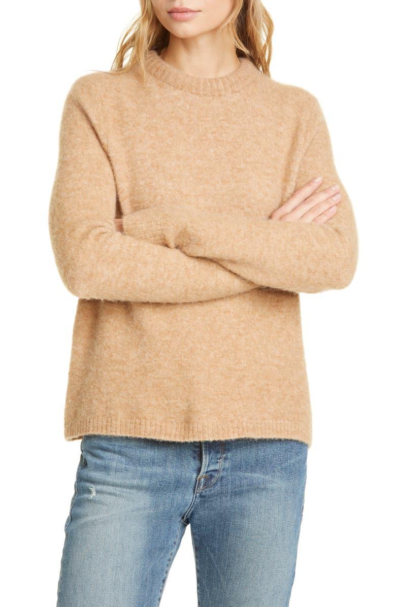 JENNI KAYNE Puffy Crewneck Sweater, Main, color, 200
