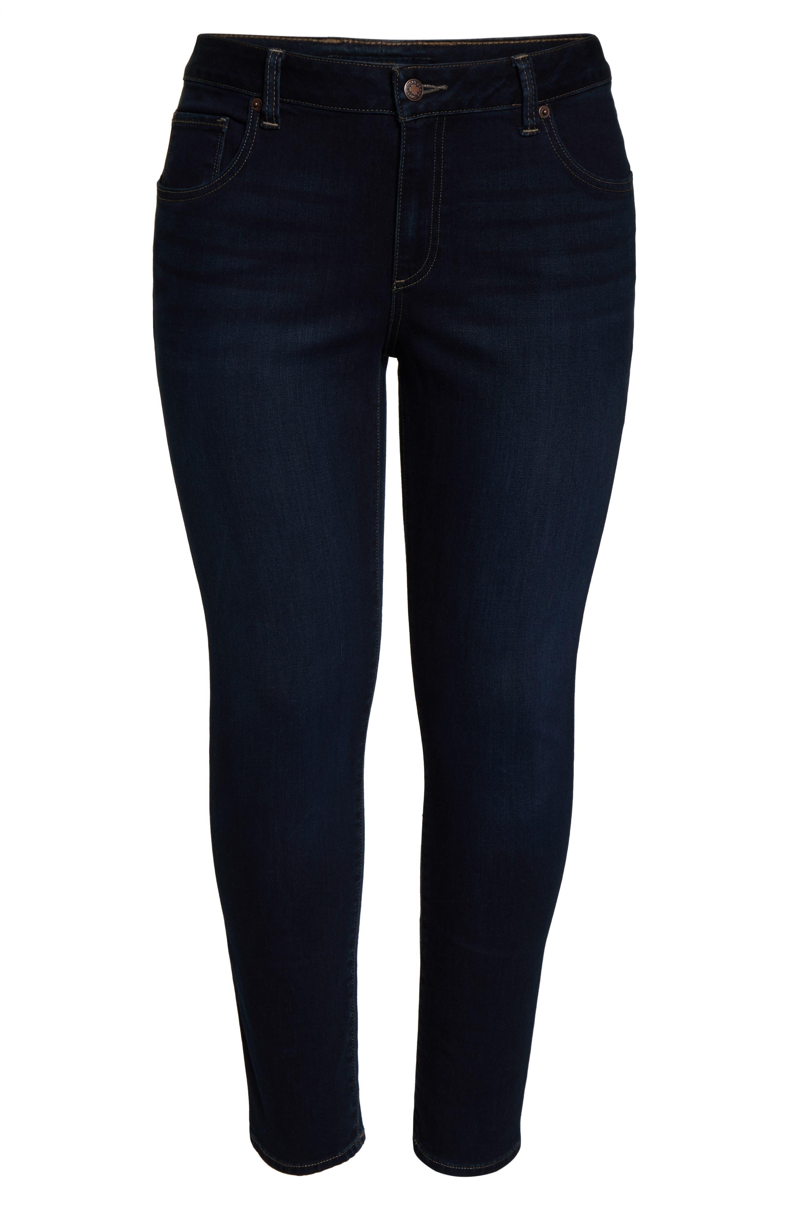 ,                             Ginger Stretch Skinny Jeans,                             Alternate thumbnail 2, color,                             EL MONTE