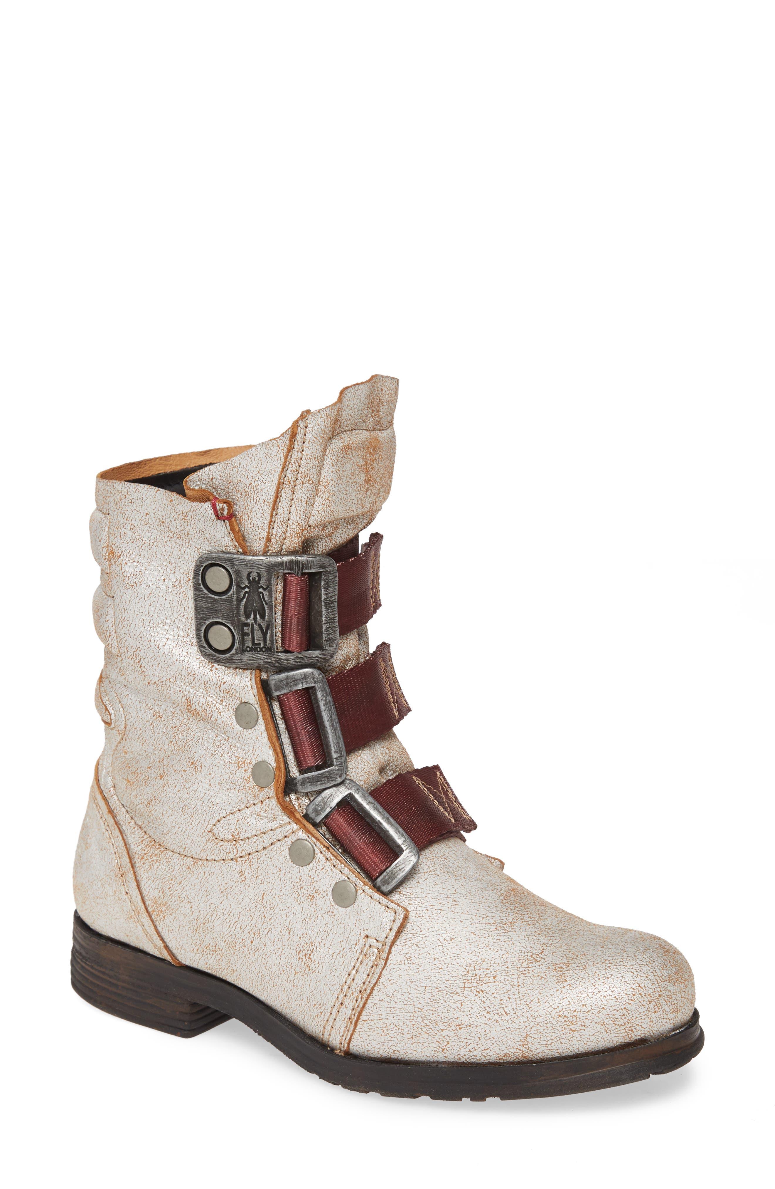 Fly London 'Stif' Military Boot (Women)