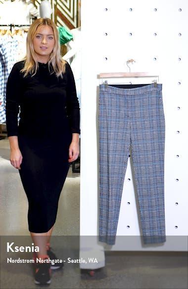 Plaid Ankle Skinny Pants, sales video thumbnail