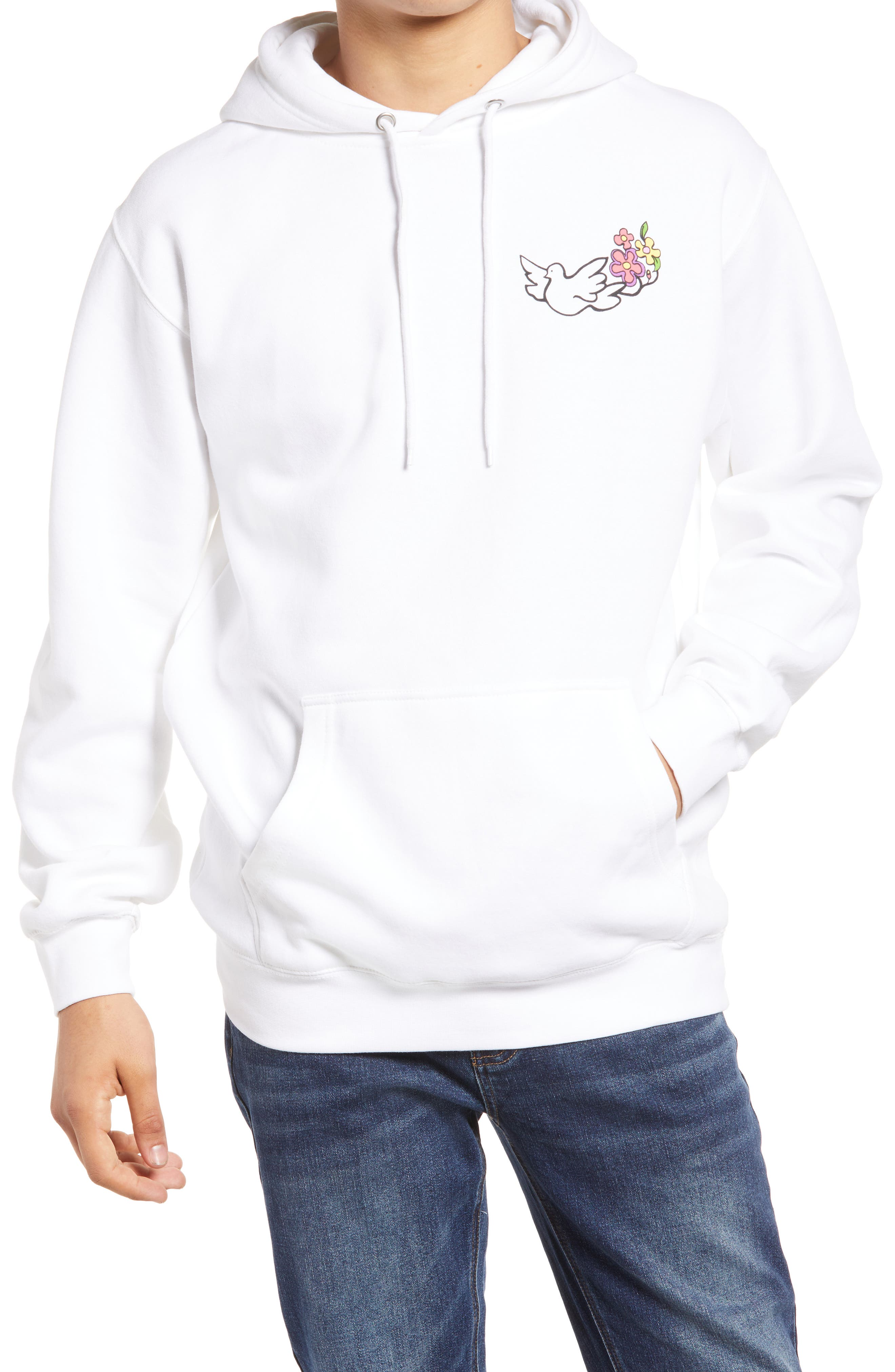 Men's Peace Within Graphic Hoodie