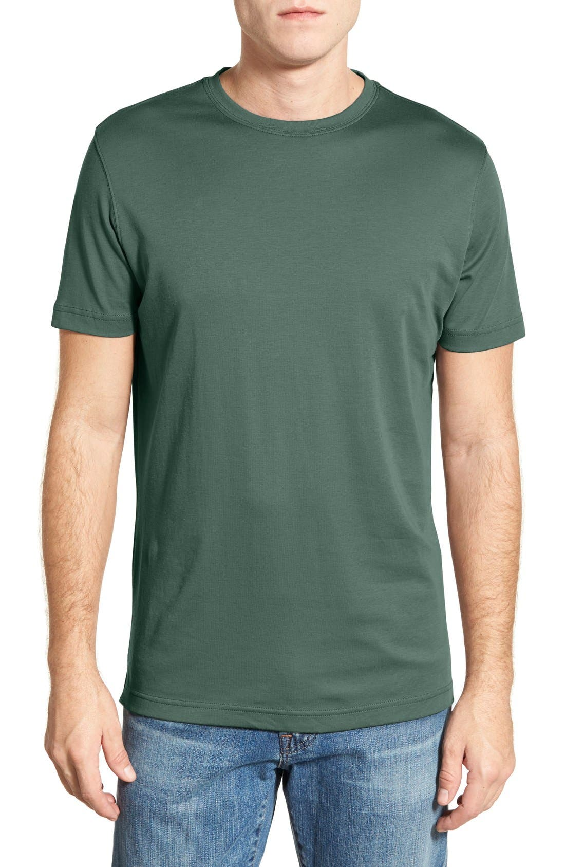 ,                             Georgia Crewneck T-Shirt,                             Main thumbnail 209, color,                             340