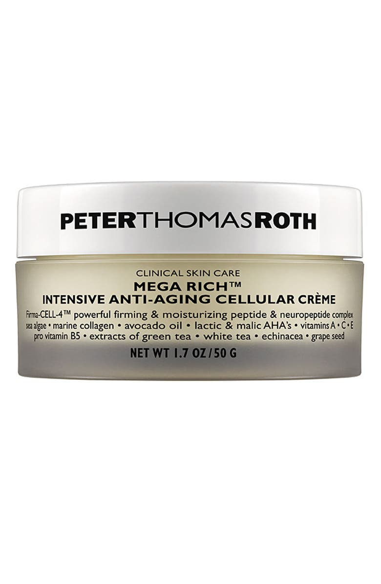 PETER THOMAS ROTH Mega Rich Intensive Anti-Aging Cellular Crème, Main, color, NO COLOR