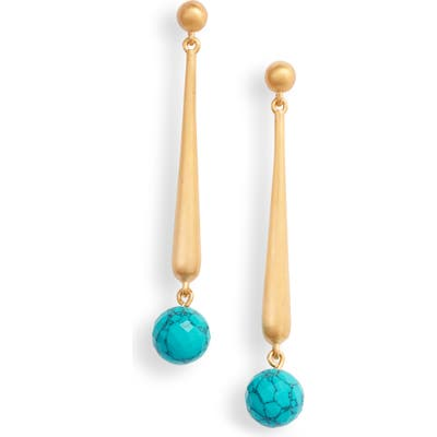 Dean Davidson Nomad Collection Turquoise Drop Earrings