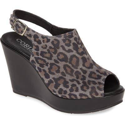 Cordani Leesa Wedge Sandal - Grey