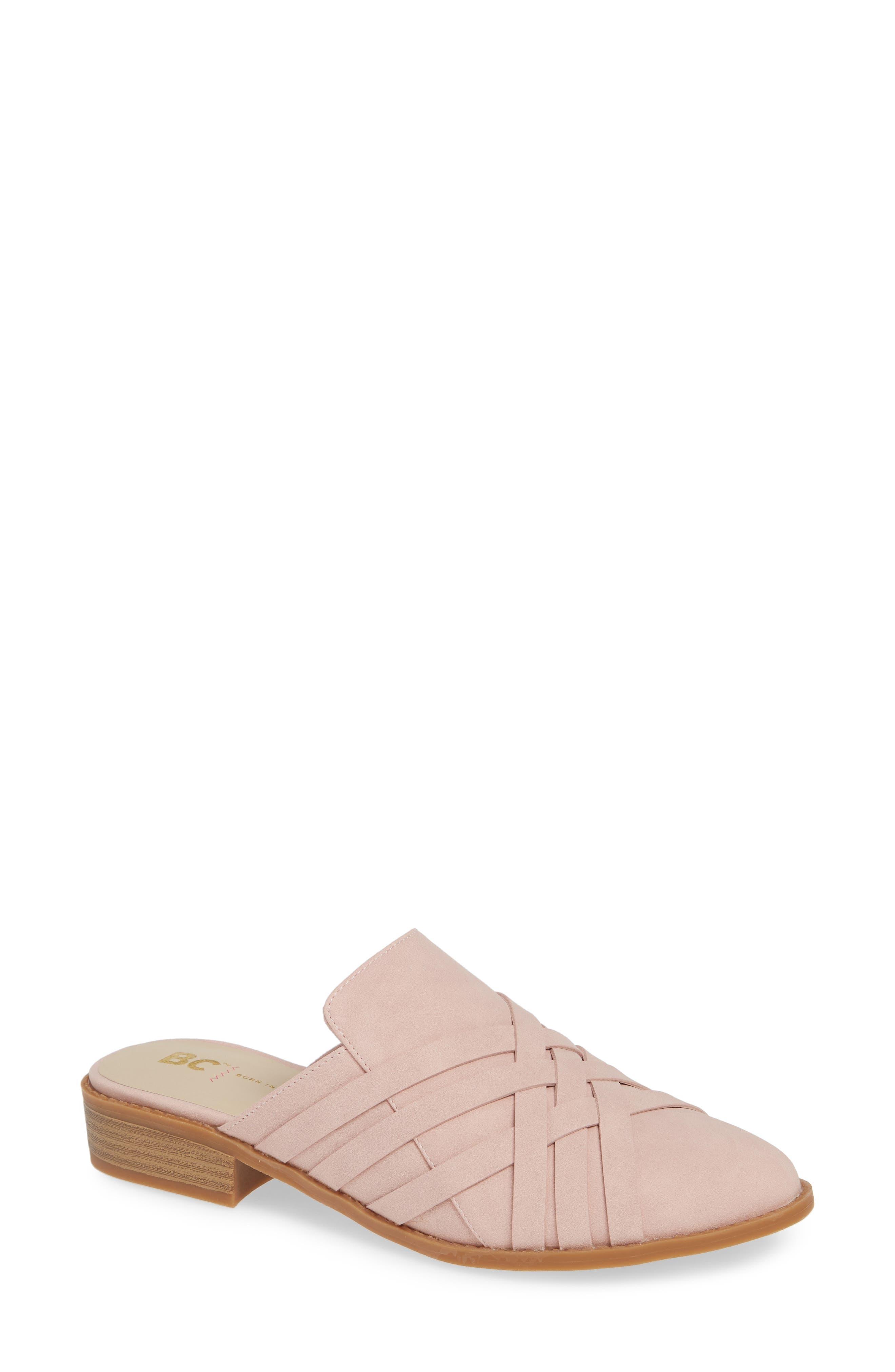 Bc Footwear Reflection Pool Vegan Mule, Pink
