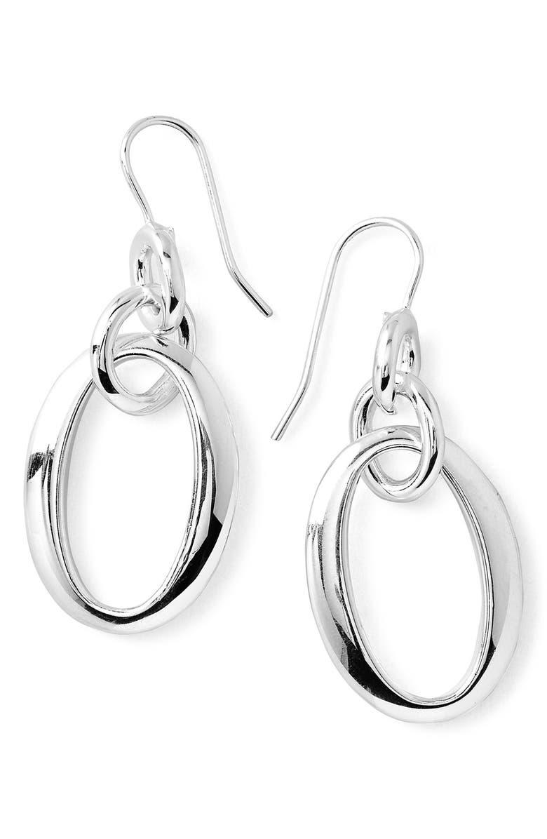 IPPOLITA 'Glamazon' Oval Link Earrings, Main, color, 040