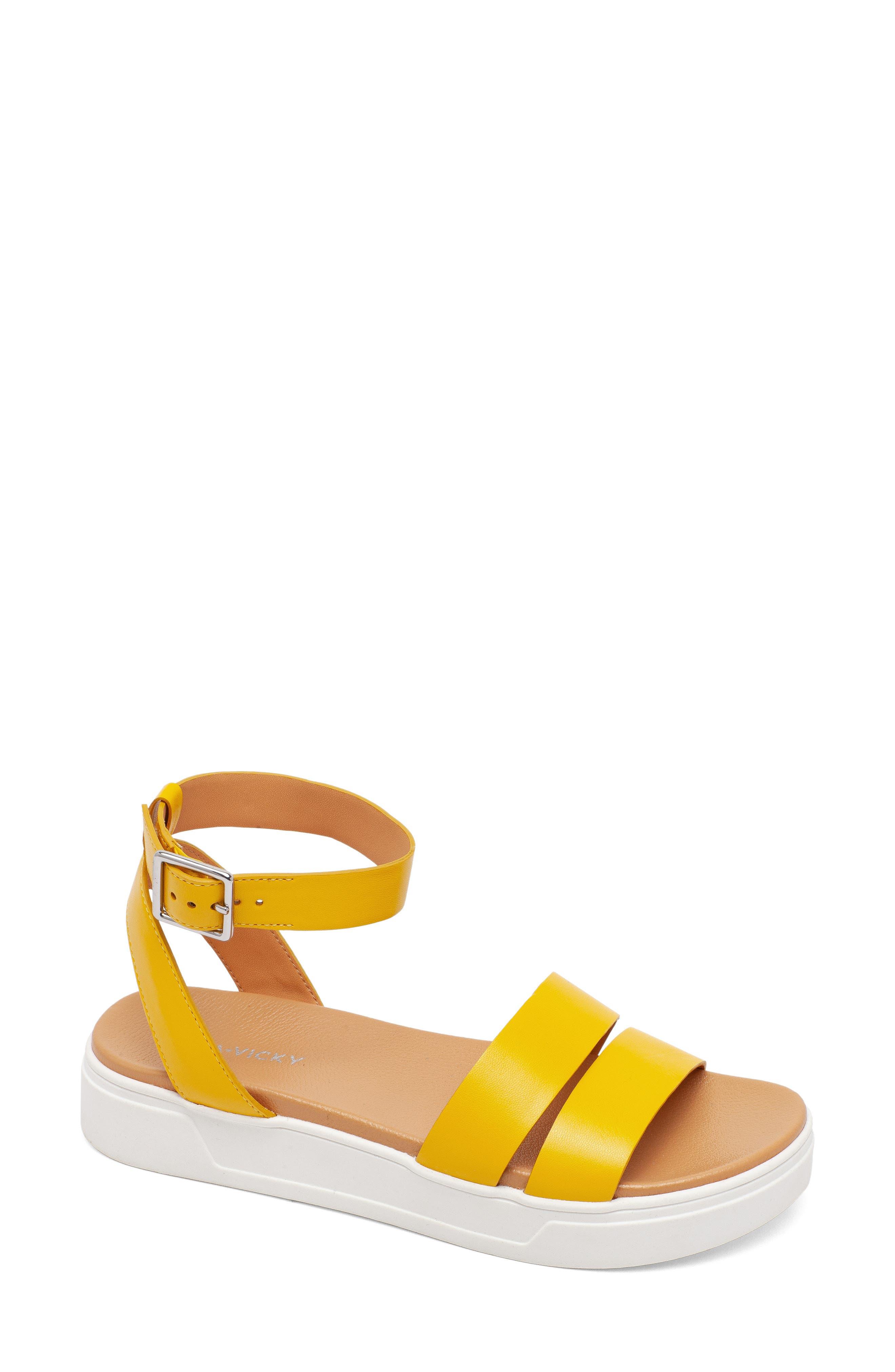 Spirit Platform Ankle Strap Sandal