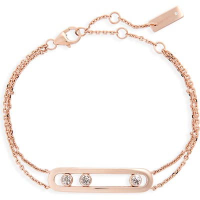 Messika Two-Strand Move Diamond Bracelet