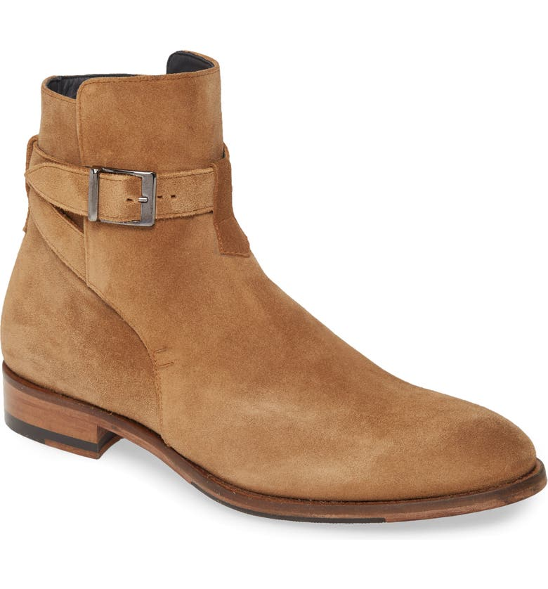 ANKARI FLORUSS Buckle Boot, Main, color, BISCUIT