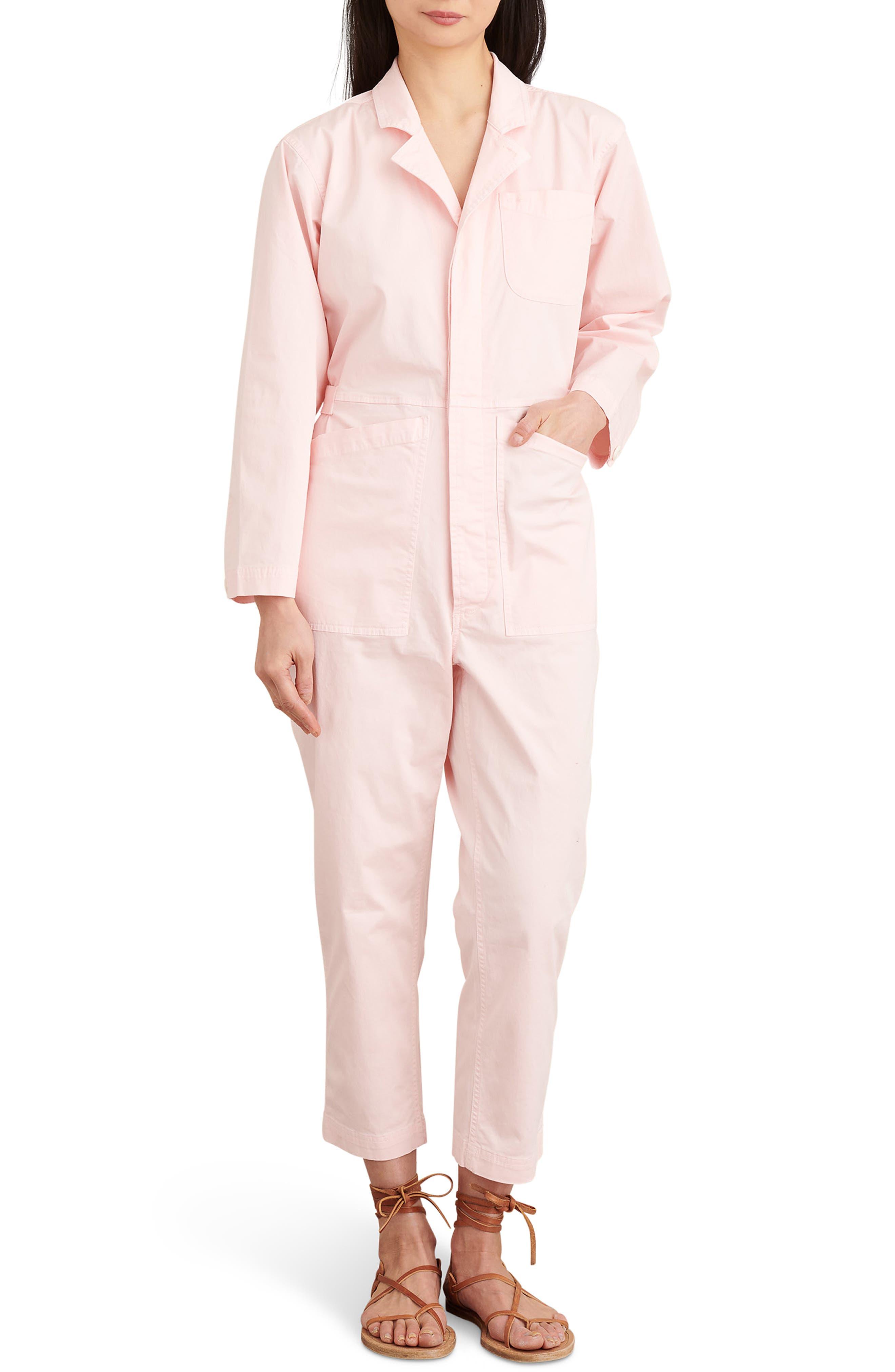 Stretch Cotton Jumpsuit