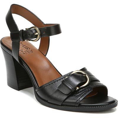 Naturalizer Malika Ankle Strap Sandal, Black