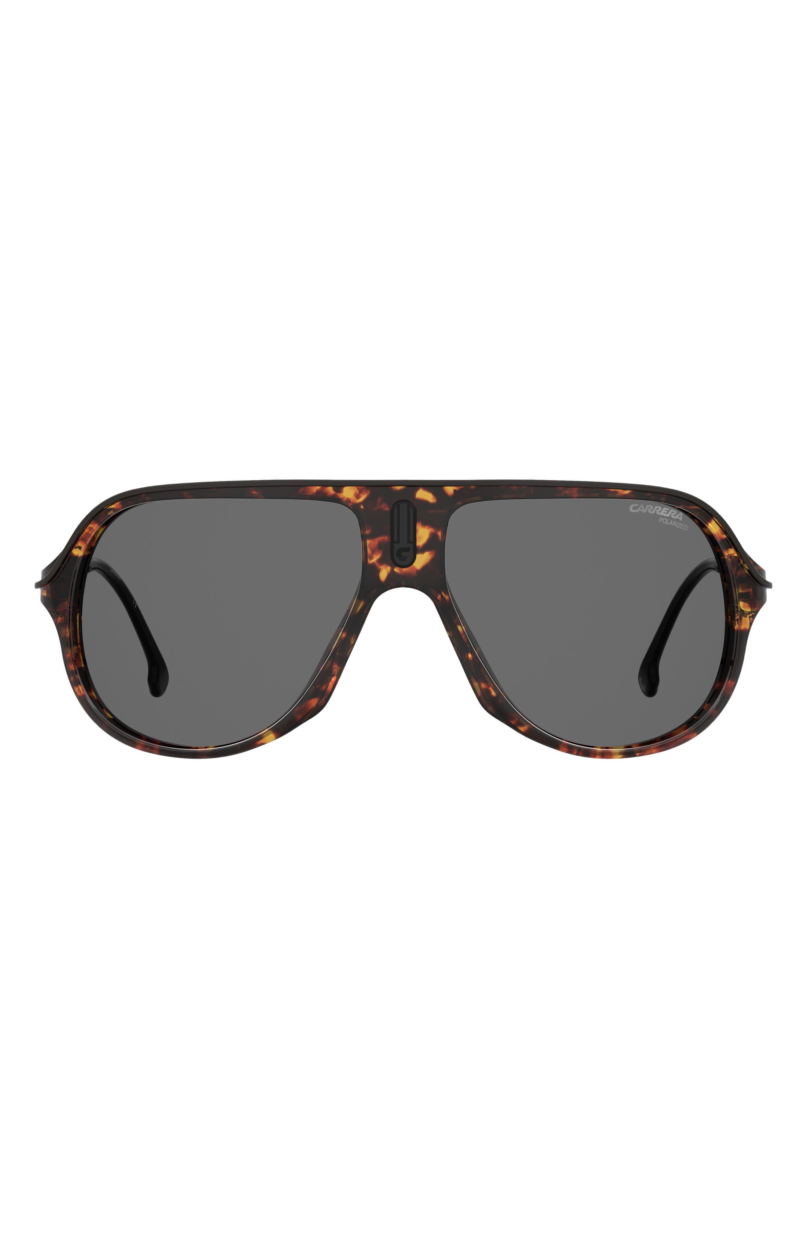 Safari 62mm Oversize Aviator Sunglasses