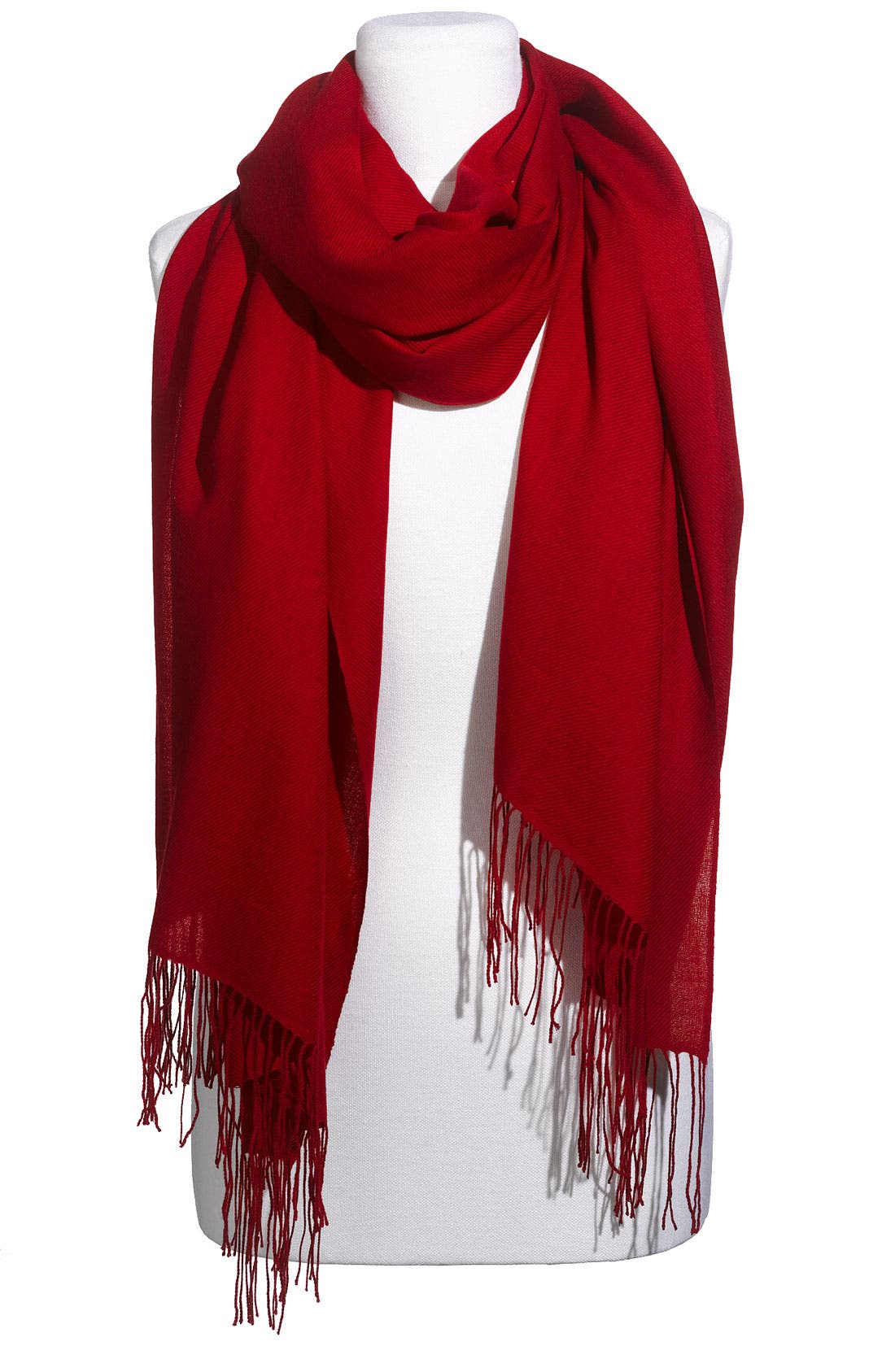 ,                             Tissue Weight Wool & Cashmere Wrap,                             Main thumbnail 162, color,                             600