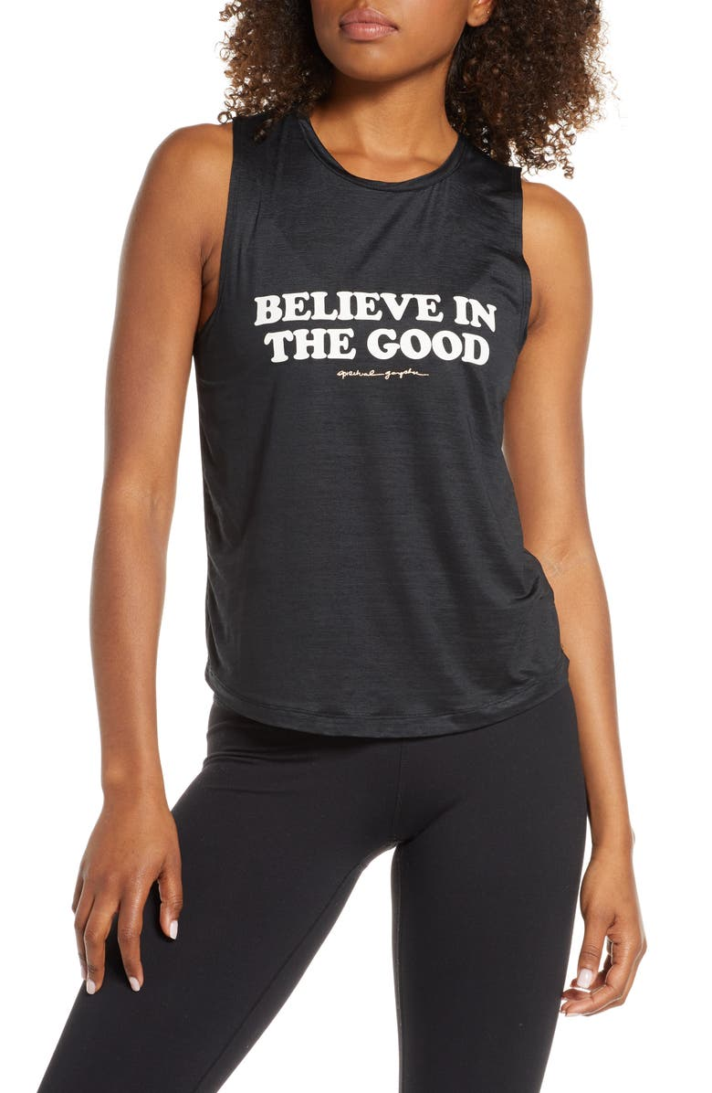 SPIRITUAL GANGSTER Believe in the Good Muscle Tank, Main, color, 001