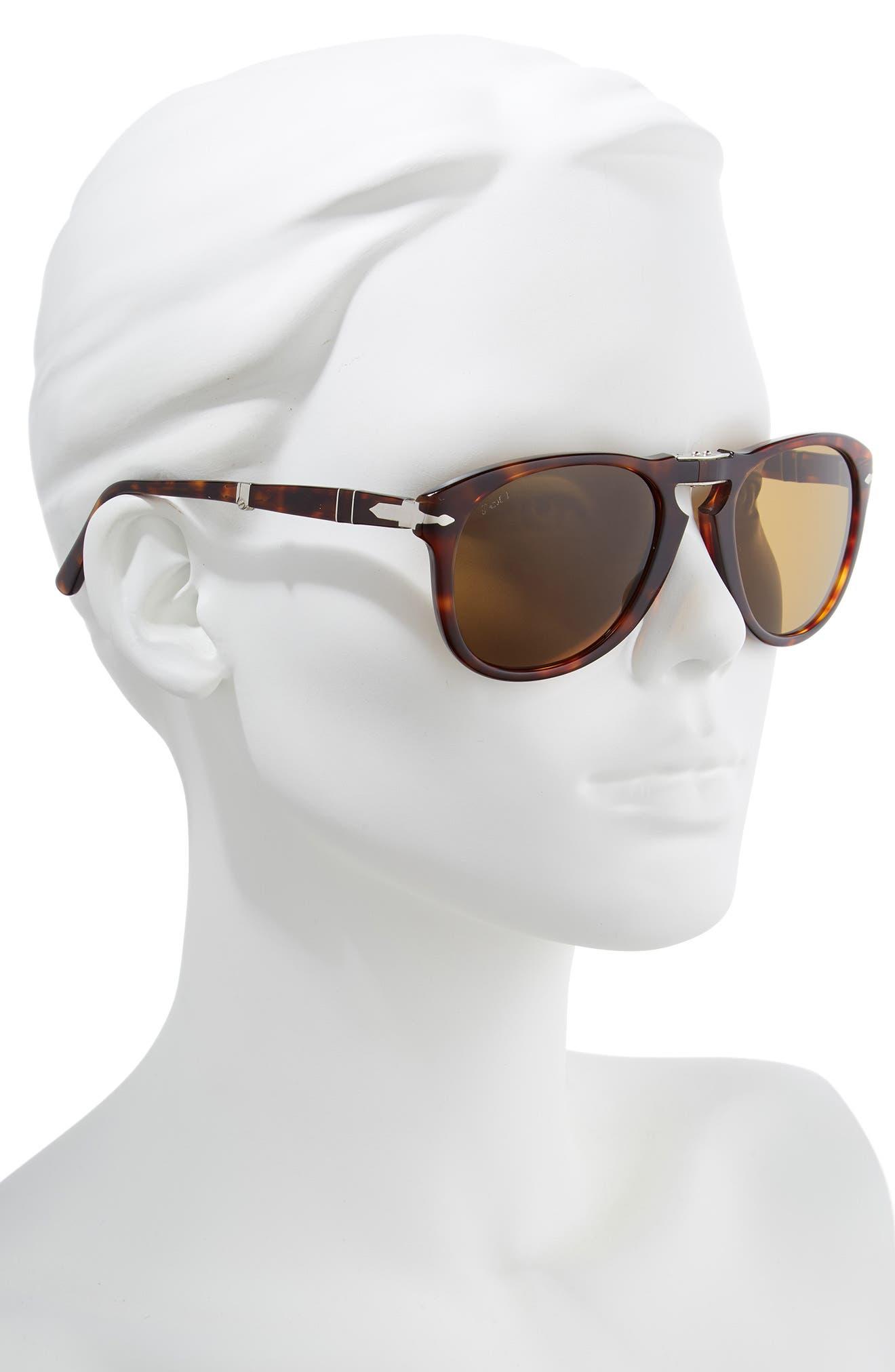 ,                             Folding Polarized Keyhole Sunglasses,                             Alternate thumbnail 2, color,                             BROWN