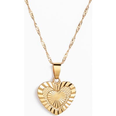 Bracha Sacred Heart Pendant Necklace
