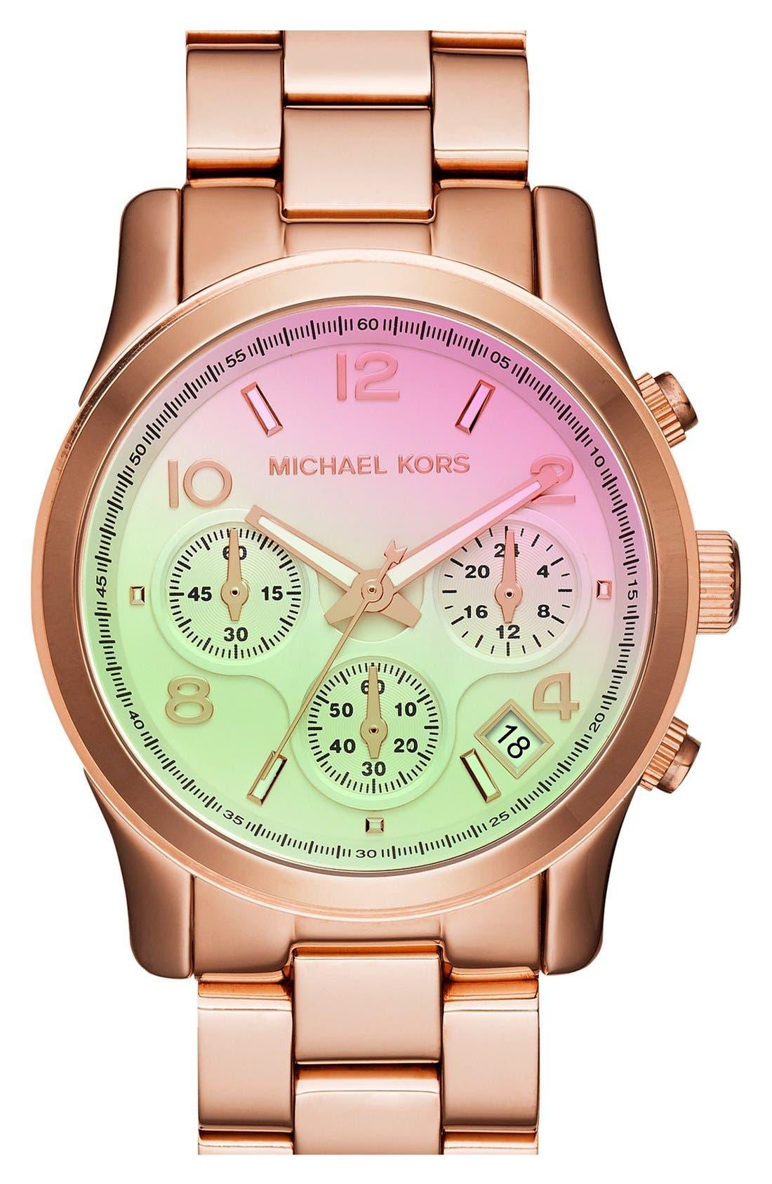 ,                             'Runway' Chronograph Watch, 39mm,                             Main thumbnail 90, color,                             719