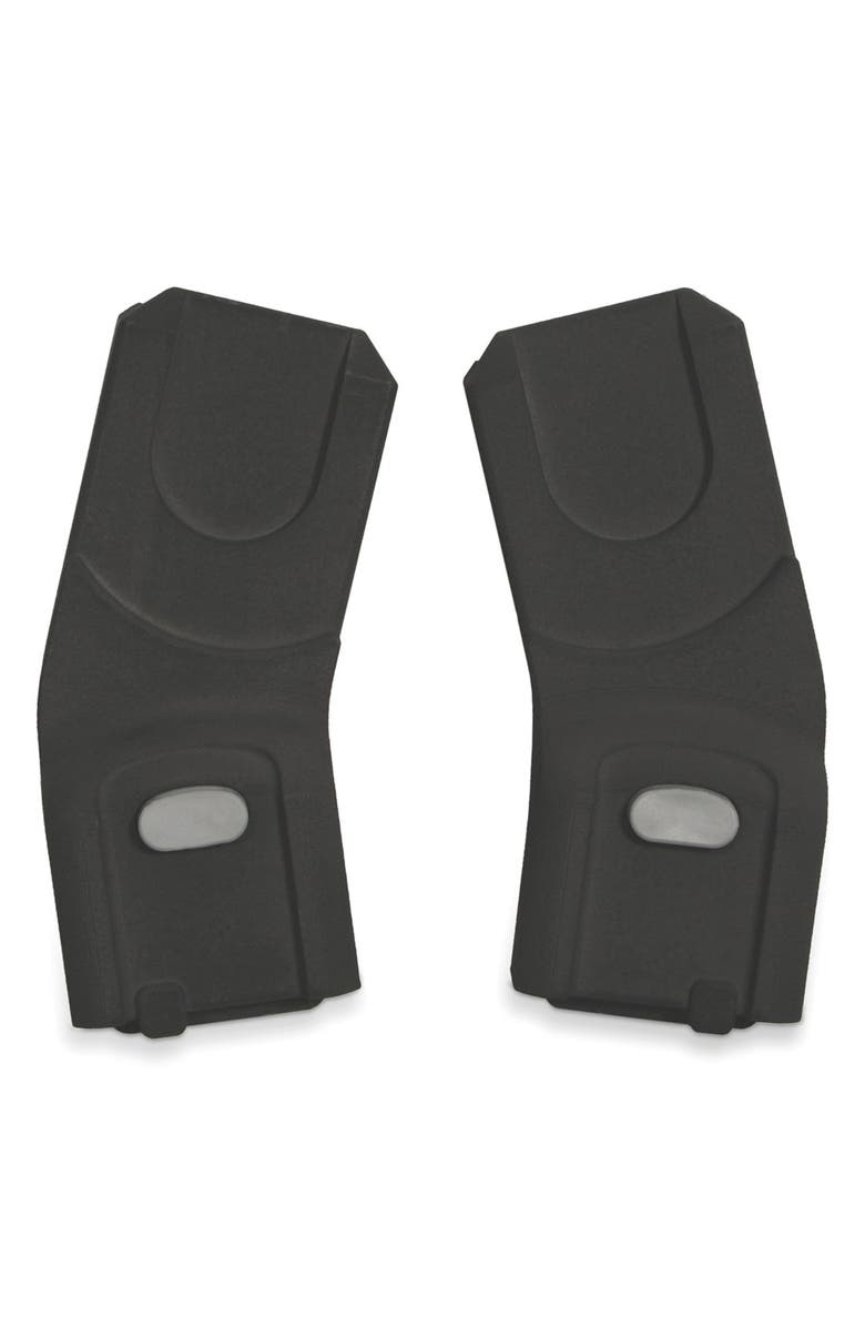 UPPABABY VISTA & CRUZ Infant Upper Car Seat Adapter for Maxi-Cosi<sup>®</sup>, Nuna<sup>®</sup> & Cybex, Main, color, BLACK