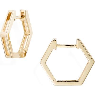 Bony Levy Hexagonal Split Hoop Earrings (Nordstrom Exclusive)