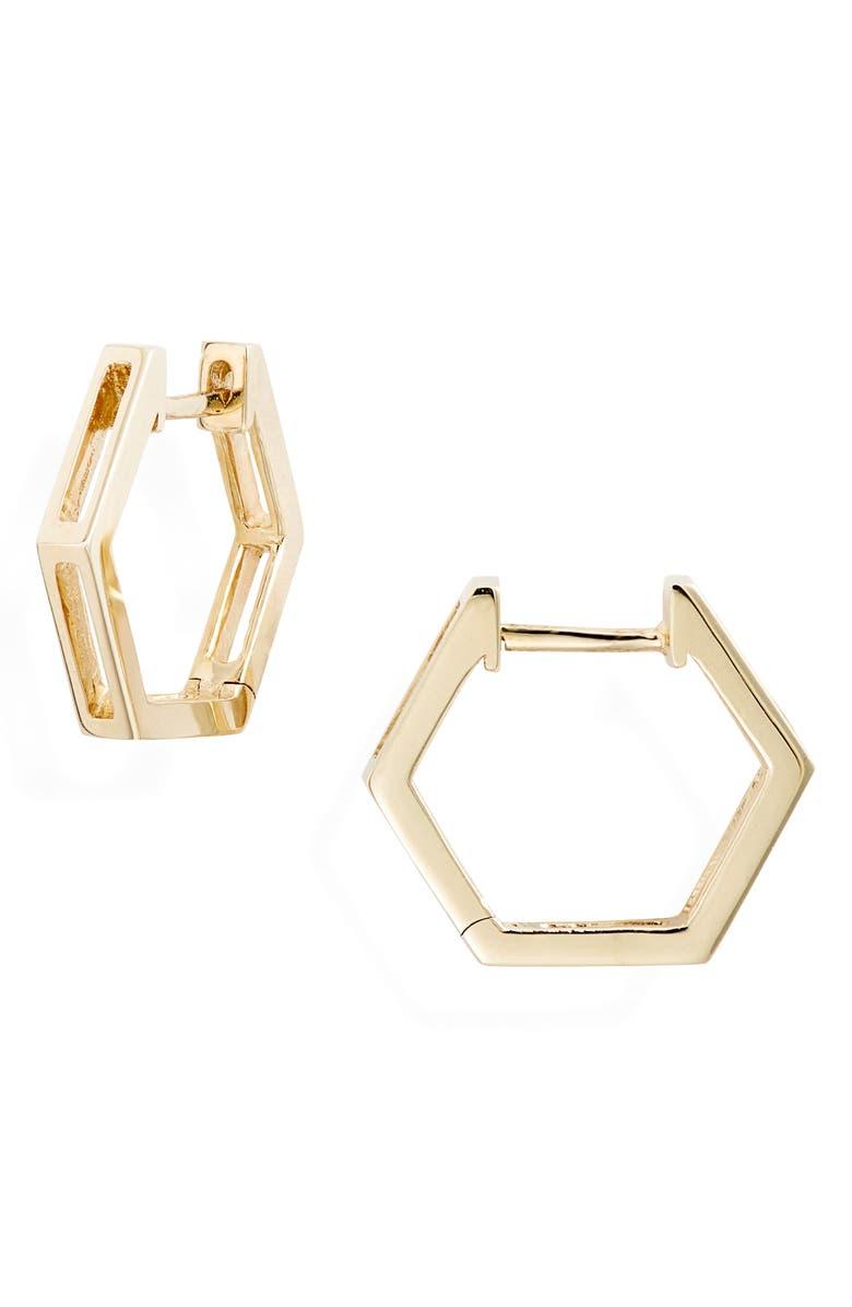 Bony Levy Hexagonal Split Hoop Earrings Exclusive