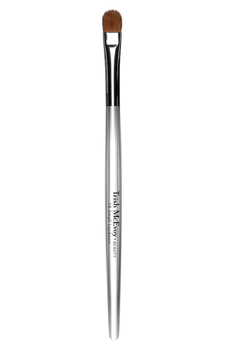 TRISH MCEVOY #19 Small Laydown Brush, Main, color, NO COLOR