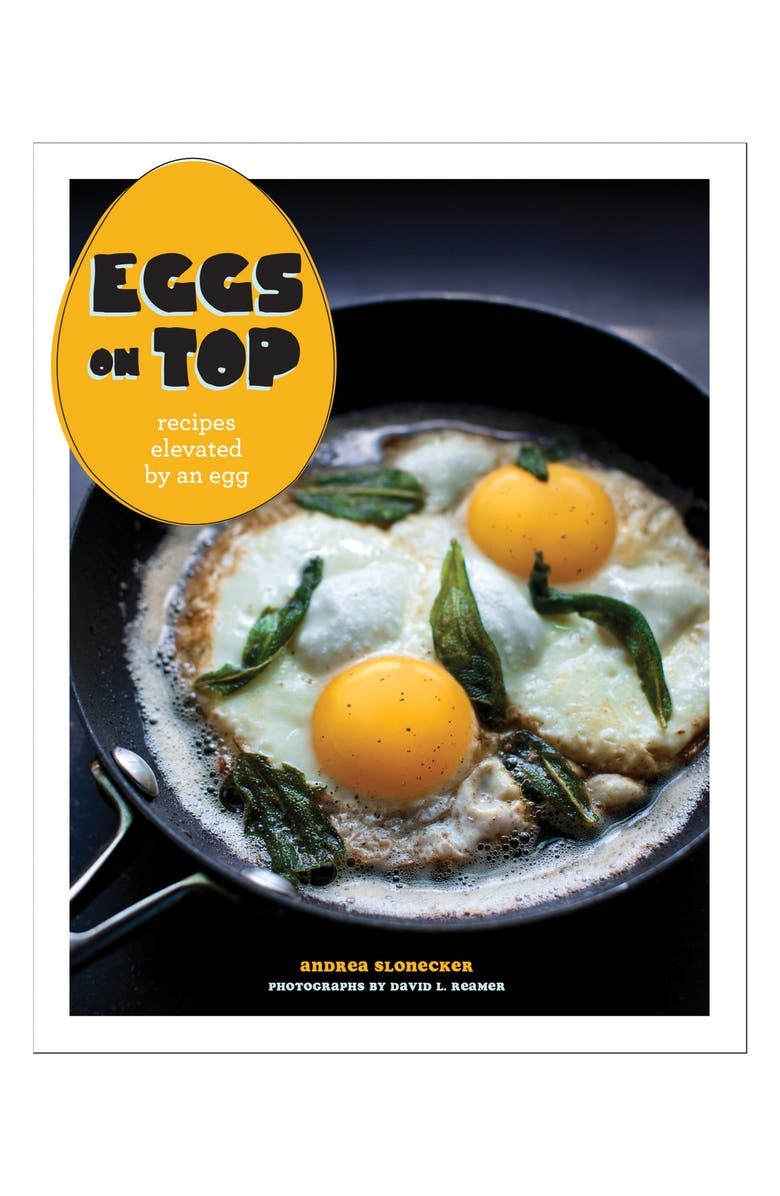 CHRONICLE BOOKS Eggs on Top Cookbook, Main, color, 001