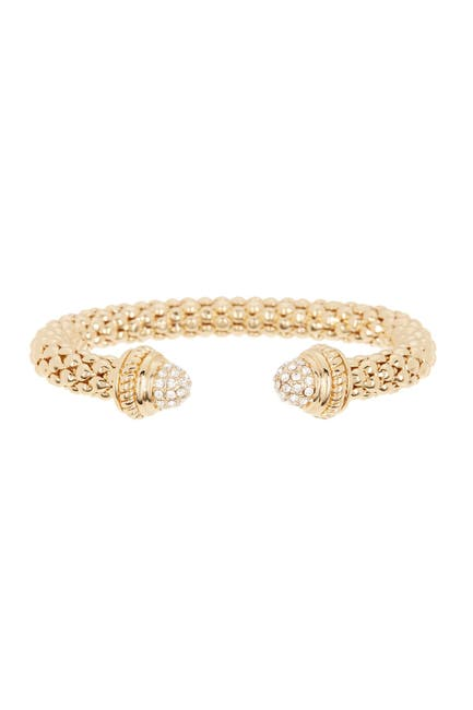 Image of Meshmerise CZ Mesh Cuff Bangle