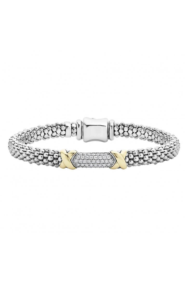 LAGOS 'Diamond Lux' Diamond Rope Bracelet, Main, color, 040